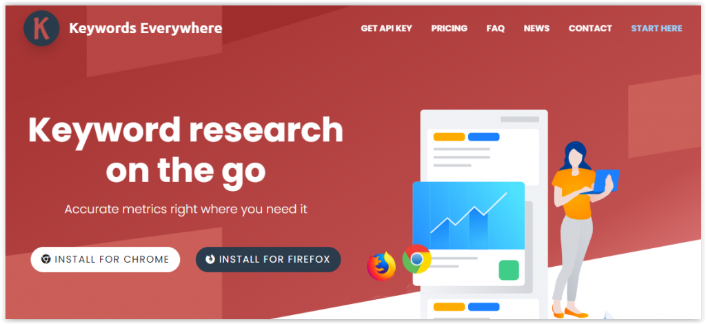 best keyword research browser add-on extension